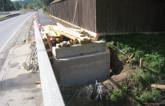 Bau einer Holzbrücke mit Holzgeländer System WEIZ - Schritt 1: Urzustand - bevor alles anfängt...