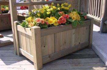 Blumentröge Holz-Riegler - Bild 4