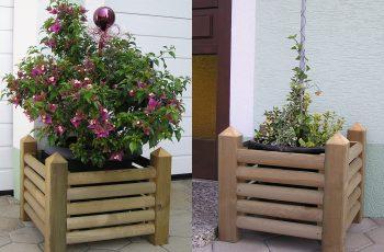 Blumentröge Holz-Riegler - Bild 5