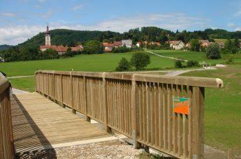Holzbrücke mit Geländer System RAABA light (4)