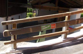 Holzleitschiene - System LBD II b mit Holzgeländer - BST Bad Aussee (7)