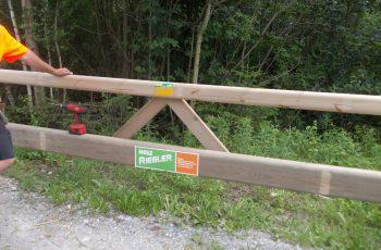Holzleitschiene mit Holzgeländer Sonderanfertigung für Gemeinde Rosental (10)