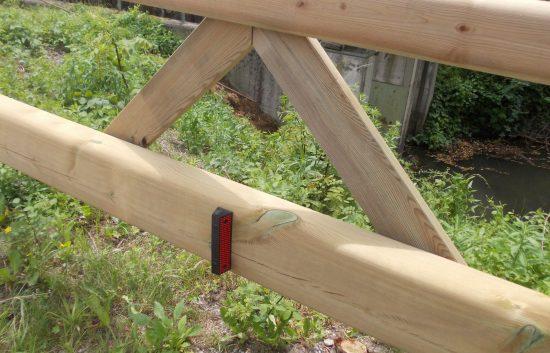 Holzleitschiene mit Holzgeländer Sonderanfertigung für Gemeinde Rosental (2)