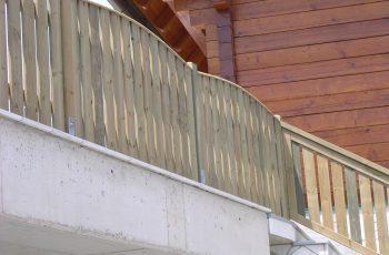 Holzzaun System Oslo mit Gesamtbogen (11)