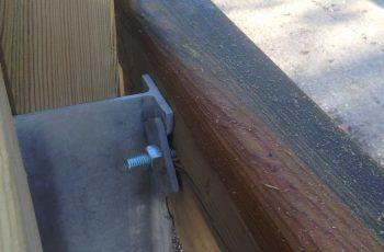 Holzleitschiene - System LBD II b - mit Holzgeländer Sonderanfertigung für Gemeinde Rosental (6)