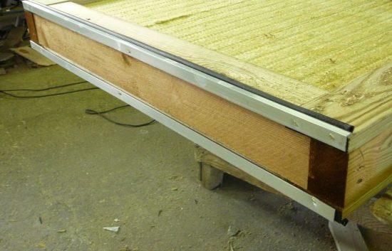 Fotoserie Bau einer Lärmschutzwand im Straßenbau - LSW - Schritt 10: