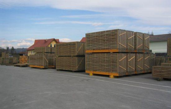 Fotoserie Bau einer Lärmschutzwand im Straßenbau - LSW - Schritt 14: