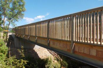 Holzbrücke mit Geländer System RAABA light - BST Feistritz (3)