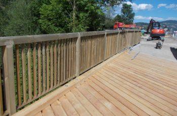 Holzbrücke mit Geländer System RAABA light - BST Feistritz (1)