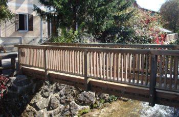 Holzbrücke mit Geländer System RAABA light (1)