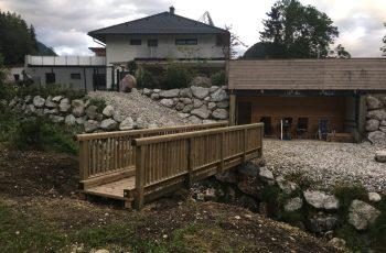 Holzbrücke mit Geländer System RAABA light (5)