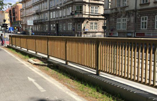 Holzgeländer - System RAABA light für Radweg - BST Graz Glaciesstraße GVB (8)