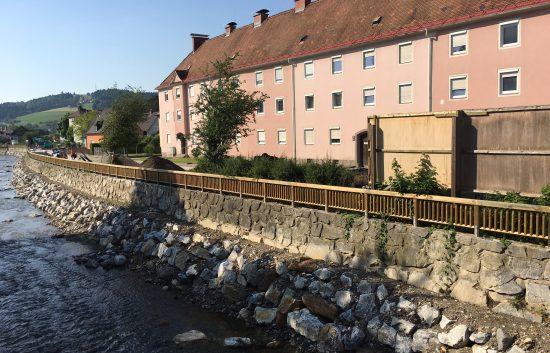Holzgeländer - System RAABA - BST Hochwasserschutz 8570 Voitsberg (8)