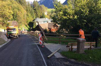 Holzgeländer - System Gehweg - BST Bad Aussee (2)