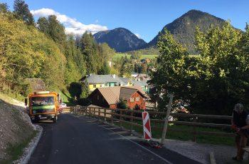 Holzgeländer - System Gehweg - BST Bad Aussee (1)