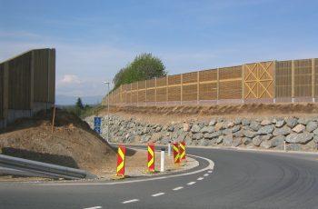 Lärmschutzwand - BST A2 Zufahrt Graz-Thalerhof (1)