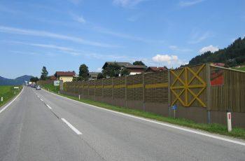 Lärmschutzwand - BST B320 Haus im Ennstal (1)