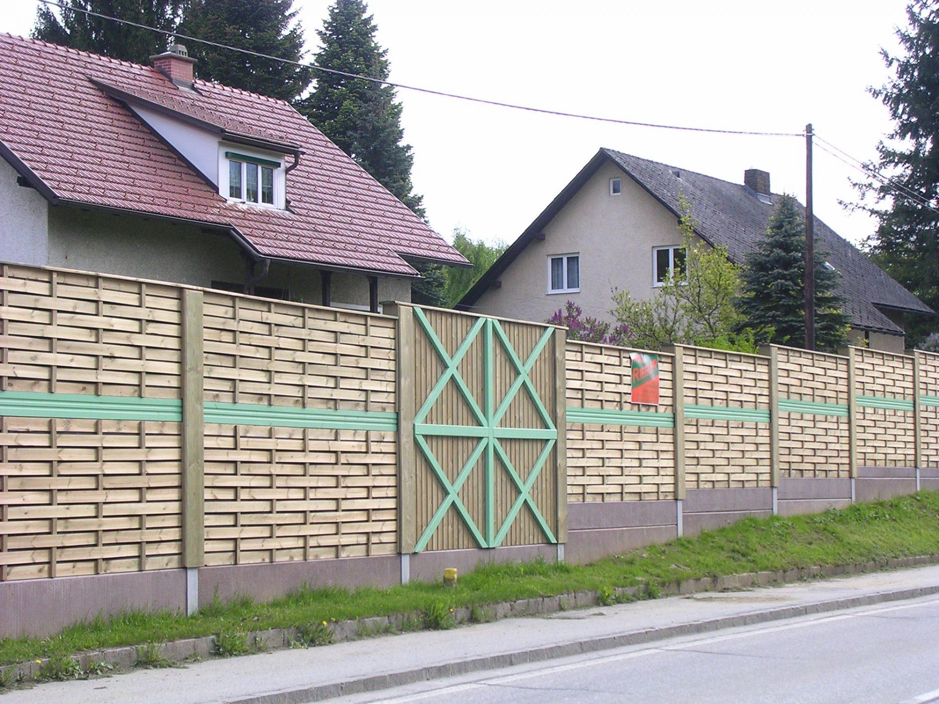 Lärmschutzwand - BST B76 Frauental (2)