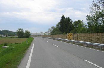 Lärmschutzwand - BST B76 Frauental (4)