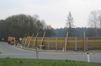 Lärmschutzwand - BST B76 Kresbach (3)