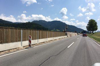 Lärmschutzwand - BST Bad Mitterndorf (2)