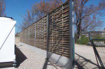 Lärmschutzwand - BST EVN Baden (1)