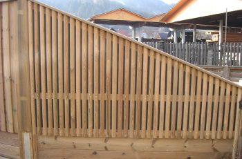 Lärmschutzwand im SB Ausstellung Holz-Riegler - Bild 2