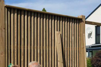Lärmschutzwand im Selbstbau- Fotoserie September 2019 - Bild 17