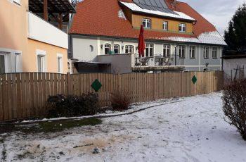 Sichtschutz Zaun System Oslo Gesamtbogen färbig (1)