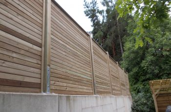Sichtschutz Zaun System Rautenschalung (1)