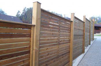 Sichtschutz Zaun System Rautenschalung (2)