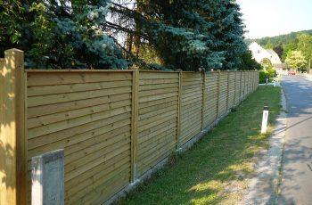 Sichtschutz Zaun System Schuppenschalung (5)