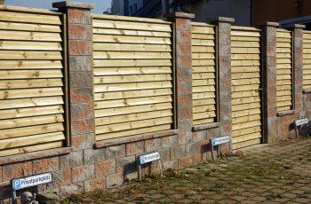 Sichtschutz Zaun System Schuppenschalung (4)
