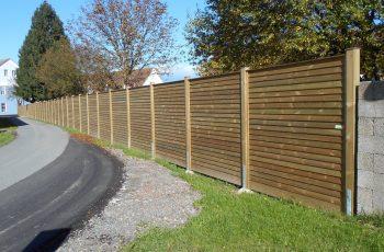 Sichtschutz Zaun System Schuppenschalung (3)