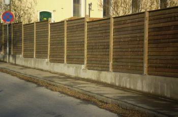 Sichtschutz Zaun System Schuppenschalung (16)