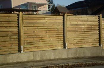Sichtschutz Zaun System Schuppenschalung (15)