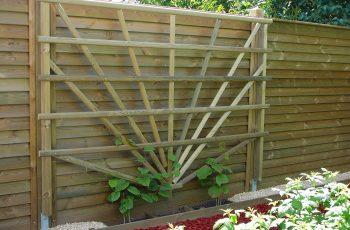 Sichtschutz Zaun System Schuppenschalung (13)