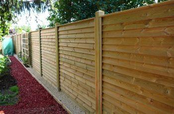 Sichtschutz Zaun System Schuppenschalung (12)