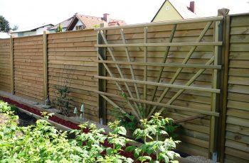 Sichtschutz Zaun System Schuppenschalung (11)