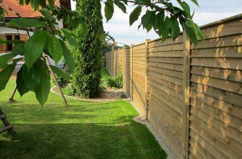 Sichtschutz Zaun System Schuppenschalung (10)