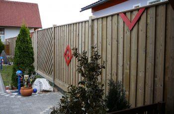 Sichtschutz Zaun System Stulpschalung (2)