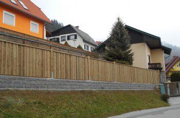 Sichtschutz Zaun System steirische Schalung