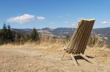Stuhl mein Lieblingsplatz (1) Maße: ca. 96 / 60 / 112 cm (H/B/T)