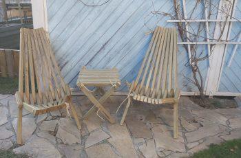 Garnitur mein Lieblingsstuhl (1) Stuhl Maße: ca. 96 / 60 / 112 cm (H/B/T)