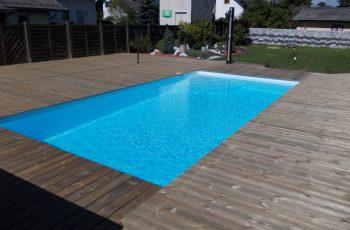 Terrassenböden und Schwimmbadumrandungen aus kesseldruckimprägniertem Kiefernholz (KDI) – Bild 12