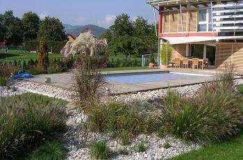 Terrassenböden und Schwimmbadumrandungen aus kesseldruckimprägniertem Kiefernholz (KDI) – Bild 17