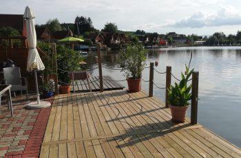 Terrassenböden und Schwimmbadumrandungen aus kesseldruckimprägniertem Kiefernholz (KDI) – Bild 34
